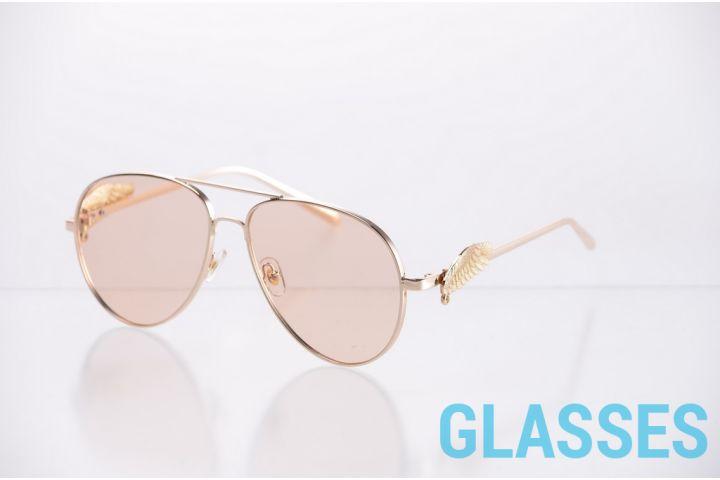 Женские очки капли 1172peach