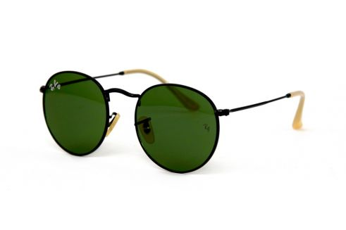 Ray Ban Round Metal 3447-green-b