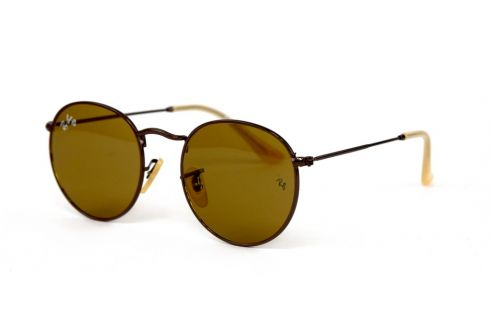 Ray Ban Round Metal 3447-brown-br