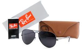 Солнцезащитные очки, Ray Ban Aviator 3026-62-14-black